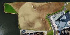 WISH: A Monumental 11 Acre Portrait in Belfast by Jorge Rodríguez Gerada #conceptualart #concept #conceptual