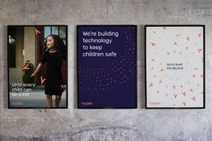 Wolff Olins rebrands child abuse and trafficking charity Thorn
