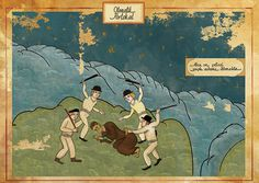 A Clockwork Orange by Murat Palta #illustration #oriental #films #ottoman