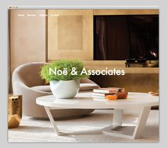 Noë & Associates #website #layout #design #web