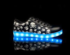 LED lighting edition shoes couple shoes
