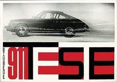 ALL MY EYES: Vintage Porsche Brochures #911 #strenger #posters #vintage #erich #porsche #brochure