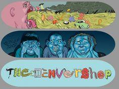 Andres-Guzman-Illustrations-9.jpg (JPEG Image, 1180x885 pixels) #andres #guzman #denver #colorado #skate #skateboard