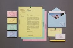 Residency – Identity / Website Design on Behance #collateral