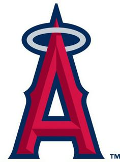 Los Angeles Angels of Anaheim Logo - Chris Creamer's Sports Logos Page - SportsLogos.Net #logo #blue #red #los angeles #baseball #sports #an