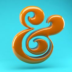 #ampersand #3dtypography #letter #typography #design #type