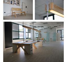 Open source work space #interior #creative #wikihouse #self #office #design #space #wood #made #source #open #light