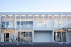 Nakagawa Office Extension by Yasutaka Yoshimura Architects #architecture #modern