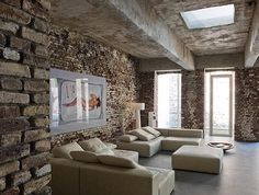 Postings for Monday March 7, 2011 : Remodelista #interior #brick #rustic #design #simple