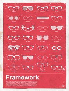 Moxy Creative Posters | Framework | Movie posters | TrendLand: Fashion Blog & Trend Magazine #glasses #illustration #framework #poster