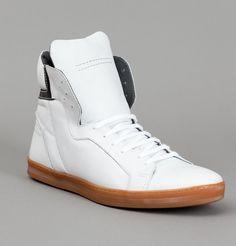 Sneakers Houston Blanc Florian Denicourt en vente chez L'Exception #sneakers
