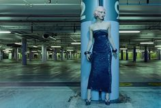 blue time | Grasie Mercedes #fashion #photography #lot #parking