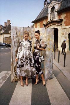 Miss Moss #fashion #dress #greyscale
