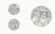 jean de wet - Atlas Mons #silkscreen #wet #de #illustration #jean