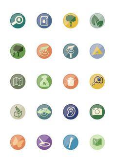 Some flat icons I\'m kicking around