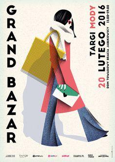 Grand Bazar poster set 2016 on Behance