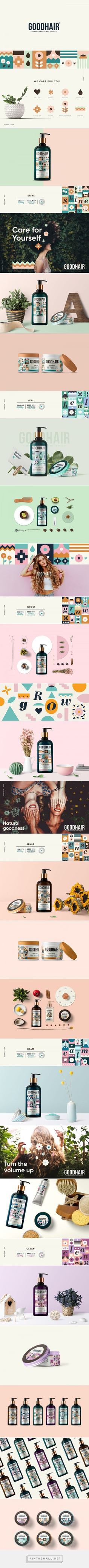 GoodHair Naturally Crafted Hair Product Packaging by Meroo Seth