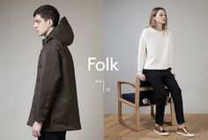 Folk Clothing by IYA Studio #logo #logotype #fashion