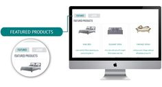 Responsive Wordpress Template #interior #woocoomerce #template #cyan #shop #design #responsive #ecwid #theme #ecommerce #furniture #mobile #wordpress #blue #ready #online