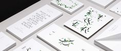 Venamour stationary #typography