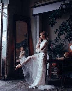 Glorious Portraits of Ballet Dancers by Mariia Kulchytska