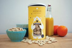 Beehive Honey Squares (Student Project) on Packaging of the World
