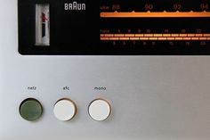 1262 | Flickr - Photo Sharing! #radio #tuner #design #stereo #1960s #industrial #braun #rams #receiver #dieter