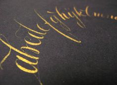 calligraphy-giuseppe-salerno14 #calligraphy #lettering #tipography #brush #type