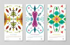 Mouscacho 2012 Calendar on the Behance Network #2012 #calendar #october #december #november