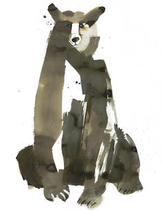 sarahmaycock_02 #bear #illustration #painting