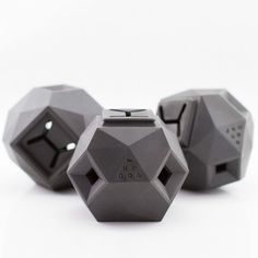 A #dog treat puzzle toy that makes your dog think, and looks great. #productdesign #industrialdesign #modern #geometry
