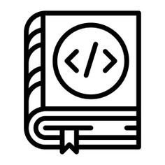 See more icon inspiration related to manual, algorithm, bookmark, seo and web, coding, education, computers and books on Flaticon.