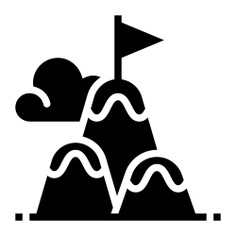 See more icon inspiration related to top, challenge, sports and competition, top of mountain, peaks, mountain peak, adventure, mountains, sports, flag and nature on Flaticon.
