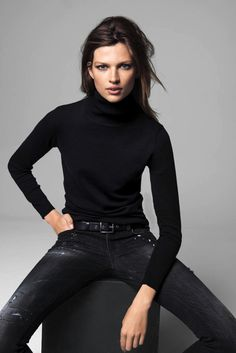 Bette Franke for Mango's Latest Lookbook #fashion #model #photography #girl