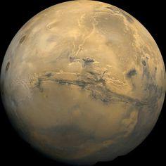 http://nssdc.gsfc.nasa.gov/image/planetary/mars/marsglobe1.jpg #mars #globe #nsa