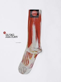 Anton Repponen #socks #design #anatomy #apparel