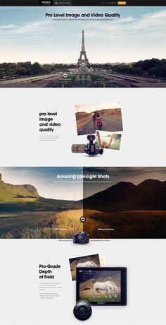 Sony Full Frame Andre do Amaral #website #brochure