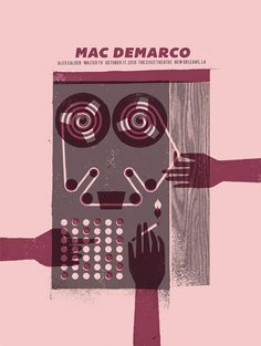 Mac Demarco - Gig Poster