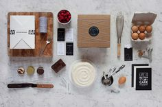 Lulu Cake Boutique | STATIONERY OVERDOSE #stationaryoverdose #branding #stationery