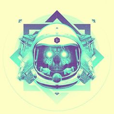 FFFFOUND! | GORG #turkis #astronaut