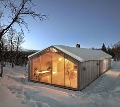 V-Lodge by Reiulf Ramstad Arkitekter #interior #design #architecture