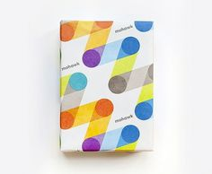 Mohawk Connects the Dots - Brand New #pentagram #color #paper #mohawk