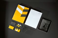 Arkigram - Brand Identity on the Behance Network #arkigram #logo #stationery