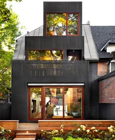 Traditional Toronto House Transformed into Tasteful Modern Home
