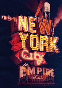 New York City / The Empire State – Ilovedust – Illustrators & Artists Agents – Début Art #ilovedust