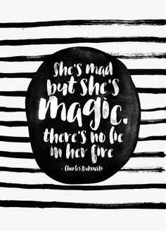 She's mad but she's magic by Elisabeth Fredriksson