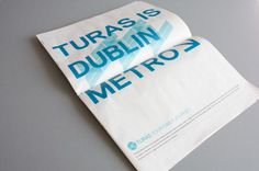 Come Play & Dress Up #dublin #branding #transport #metro #logo