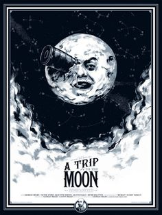 A trip to the moon #georges #cinema #moon #mã©liã¨s #1902