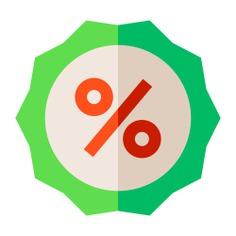 See more icon inspiration related to discount, price, sale, bargain, offer, commerce and shopping, sticker, label and percentage on Flaticon.