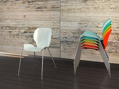 Lata Stacking Chair on the Behance Network #chair #furniture #design